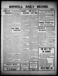 Roswell Daily Record, 02-12-1910 by H. E. M. Bear