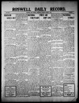 Roswell Daily Record, 03-09-1910 by H. E. M. Bear