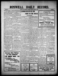 Roswell Daily Record, 03-19-1910 by H. E. M. Bear