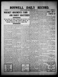 Roswell Daily Record, 03-21-1910 by H. E. M. Bear