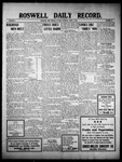 Roswell Daily Record, 04-05-1910 by H. E. M. Bear