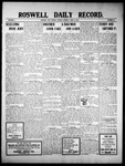 Roswell Daily Record, 04-12-1910 by H. E. M. Bear