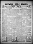 Roswell Daily Record, 04-18-1910 by H. E. M. Bear