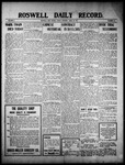 Roswell Daily Record, 04-22-1910 by H. E. M. Bear