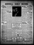 Roswell Daily Record, 04-25-1910 by H. E. M. Bear