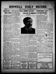 Roswell Daily Record, 04-30-1910 by H. E. M. Bear