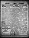 Roswell Daily Record, 05-03-1910 by H. E. M. Bear