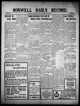 Roswell Daily Record, 05-06-1910 by H. E. M. Bear