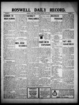 Roswell Daily Record, 05-09-1910 by H. E. M. Bear