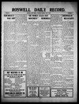 Roswell Daily Record, 05-12-1910 by H. E. M. Bear