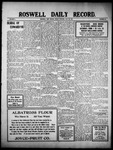 Roswell Daily Record, 05-20-1910 by H. E. M. Bear