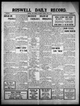 Roswell Daily Record, 05-21-1910 by H. E. M. Bear