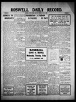 Roswell Daily Record, 05-23-1910 by H. E. M. Bear