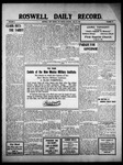 Roswell Daily Record, 05-25-1910 by H. E. M. Bear