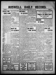 Roswell Daily Record, 05-26-1910 by H. E. M. Bear