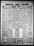 Roswell Daily Record, 05-30-1910 by H. E. M. Bear