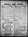 Roswell Daily Record, 06-03-1910 by H. E. M. Bear