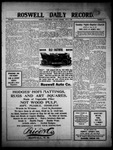 Roswell Daily Record, 06-11-1910 by H. E. M. Bear