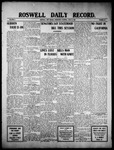 Roswell Daily Record, 06-15-1910 by H. E. M. Bear