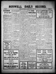 Roswell Daily Record, 06-18-1910 by H. E. M. Bear
