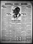 Roswell Daily Record, 06-22-1910 by H. E. M. Bear