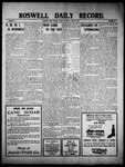 Roswell Daily Record, 06-24-1910 by H. E. M. Bear