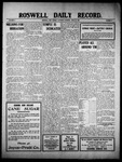 Roswell Daily Record, 06-25-1910 by H. E. M. Bear