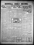Roswell Daily Record, 06-29-1910 by H. E. M. Bear