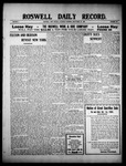 Roswell Daily Record, 09-25-1909 by H. E. M. Bear