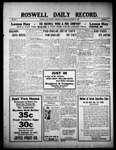 Roswell Daily Record, 09-29-1909 by H. E. M. Bear