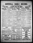 Roswell Daily Record, 10-01-1909 by H. E. M. Bear
