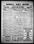 Roswell Daily Record, 10-02-1909 by H. E. M. Bear