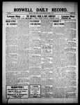 Roswell Daily Record, 10-04-1909 by H. E. M. Bear
