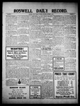 Roswell Daily Record, 10-05-1909 by H. E. M. Bear