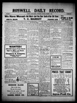 Roswell Daily Record, 10-06-1909 by H. E. M. Bear