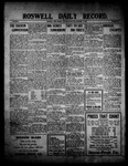 Roswell Daily Record, 10-07-1909 by H. E. M. Bear