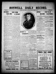 Roswell Daily Record, 10-09-1909 by H. E. M. Bear