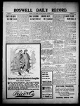 Roswell Daily Record, 10-12-1909 by H. E. M. Bear