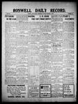 Roswell Daily Record, 10-13-1909 by H. E. M. Bear