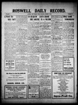 Roswell Daily Record, 10-15-1909 by H. E. M. Bear