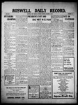 Roswell Daily Record, 10-16-1909 by H. E. M. Bear