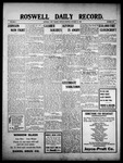 Roswell Daily Record, 10-18-1909 by H. E. M. Bear