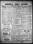 Roswell Daily Record, 10-21-1909 by H. E. M. Bear