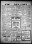Roswell Daily Record, 10-23-1909 by H. E. M. Bear