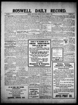 Roswell Daily Record, 10-25-1909 by H. E. M. Bear