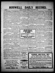 Roswell Daily Record, 10-27-1909 by H. E. M. Bear