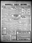 Roswell Daily Record, 10-28-1909 by H. E. M. Bear