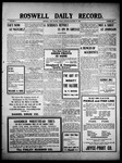 Roswell Daily Record, 10-29-1909 by H. E. M. Bear