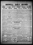 Roswell Daily Record, 11-03-1909 by H. E. M. Bear