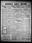 Roswell Daily Record, 11-04-1909 by H. E. M. Bear